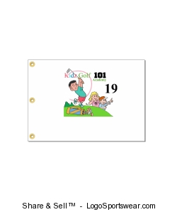 Kidz Golf 101 19 hole flag Design Zoom